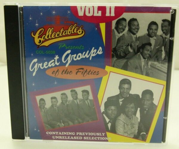 Collectables CD - Great Groups of the Fifties (Vol II) - R&B Doo-Wop Mint Cond.