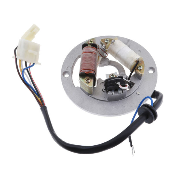 Double Coil Ignition Magneto Stator Plate for Yamaha PW80 Motorcycle Bike $26.21