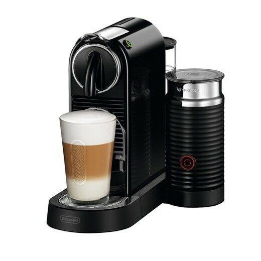 DeLonghi Nespresso Citiz & Milk Espresso Latte Cappuccino Maker ~ NEW 19  Bar