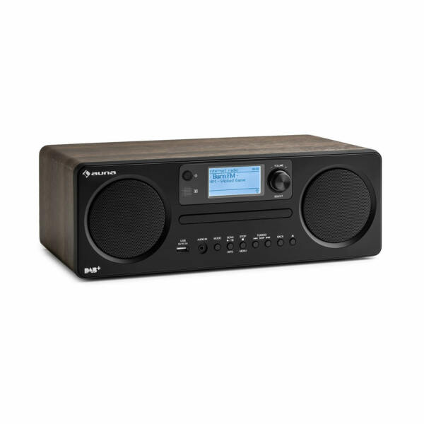 Internetradio DAB+ Digitalradio USB MP3 CD Player Bluetooth WiFi Spotify Connect