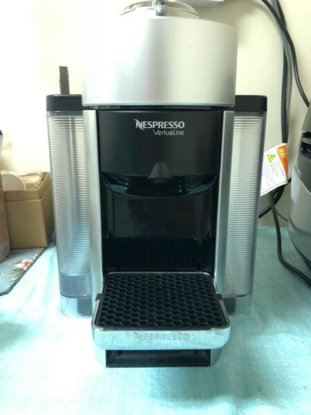 Nespresso Vertuoline Evoluo Espresso Coffee Maker Machine (Silver)