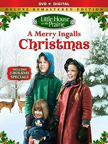Little house On The Prairie A Merry Ingalls Christmas DVD New Free shipping