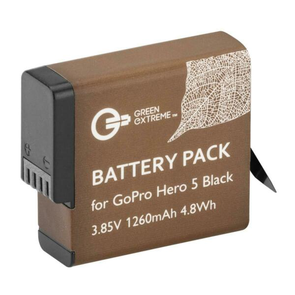 Green Extreme Rechargeable Battery for HERO 5, HERO 6 Black and HERO 7