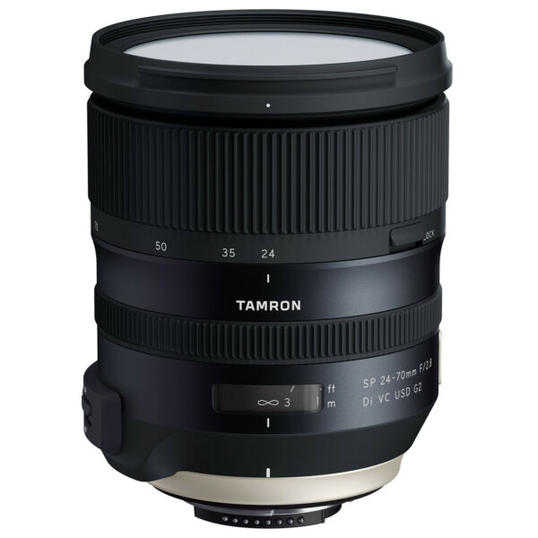 Tamron SP 24-70mm f/2.8 Di VC USD G2 Lens for Nikon & Canon Mount