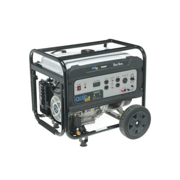 Quipall 7000DF Dual Fuel Portable Generator CARB New