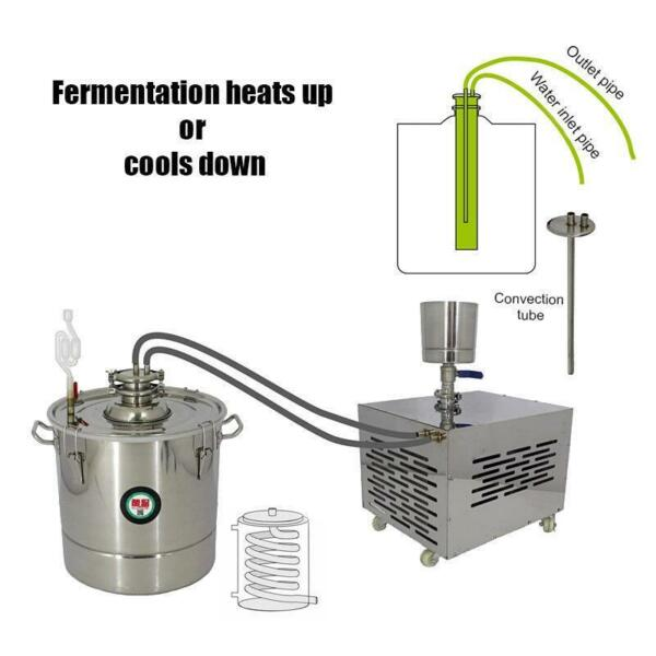 Wine Beer Liquid brewing Fermenting distilling Refrigerating and Heating Mach ss