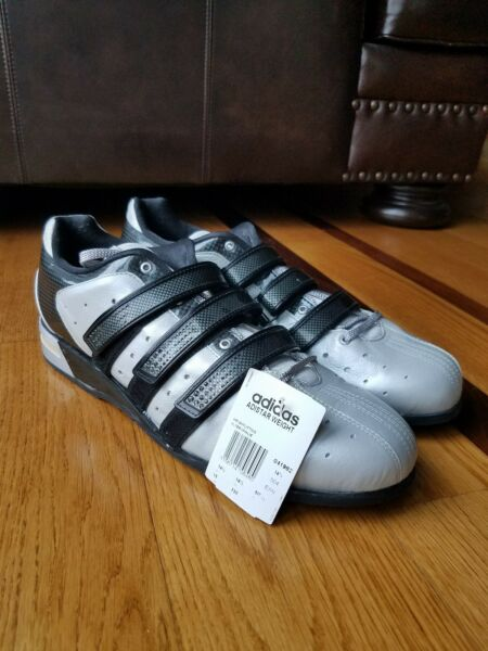 *NEW* Vintage 2005 Adidas Adistar Olympic Weightlifting Shoes Sz 15 Made Germany