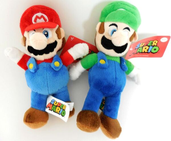 Nintendo Mario and Luigi 2 Plush Doll Set 8.5 inches $15.96