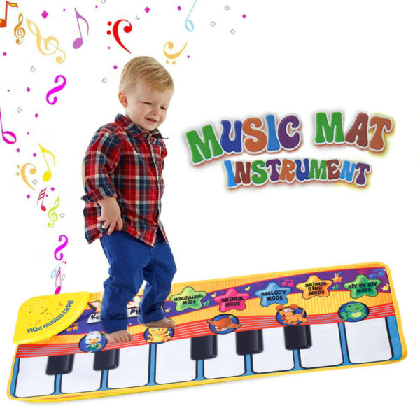 Kids Baby Musical Piano Play Mat Development Educational Soft Toys for Boy