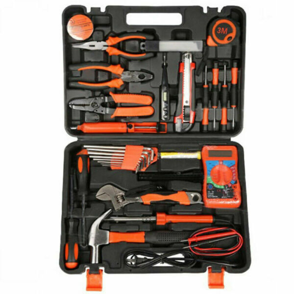 35pcs Electricians Tools Set Electric Screwdriver Wrench Bag Kit Home