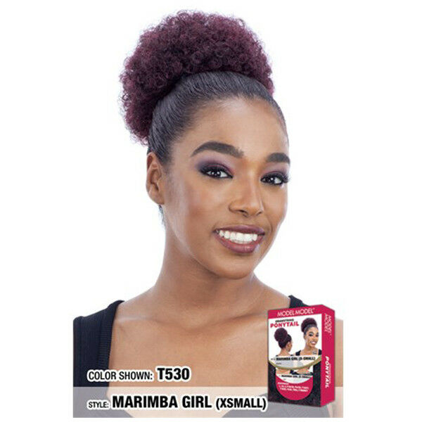 Model Model Drawstring Ponytail Afro Style Hair Extension- Marimba Girl (XSmall)