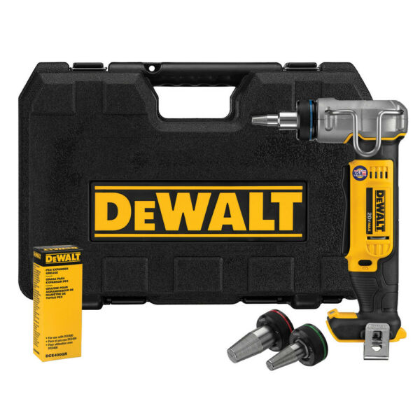 DEWALT 20V MAX Series Cordless Li-Ion 1 in. PEX Expander DCE400B (Tool Only) New