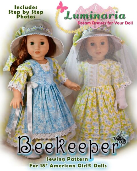 American Girl Doll Dress Clothes Pattern 18