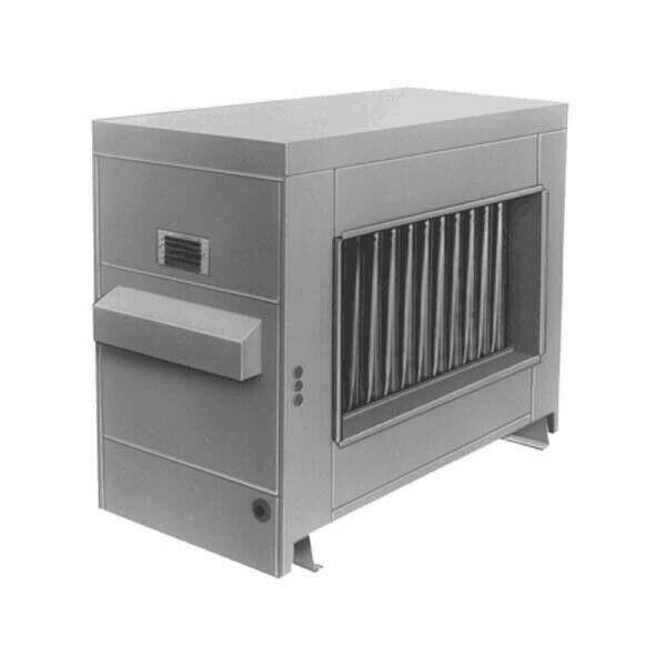 Reznor RP-300 Gas Fired Duct Furnace - Power Vented - LP - Aluminized Heat Ex...