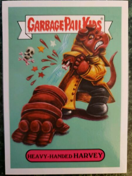 2018 Horror SERIES Garbage Pail Kids Heavy - Handed Harvey 2a FRESH PACK TOPPS