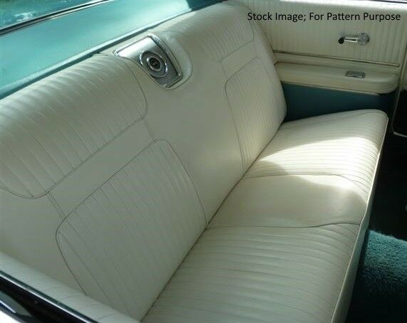 1964 Chevrolet Impala SS Coupe Rear Seat Cover