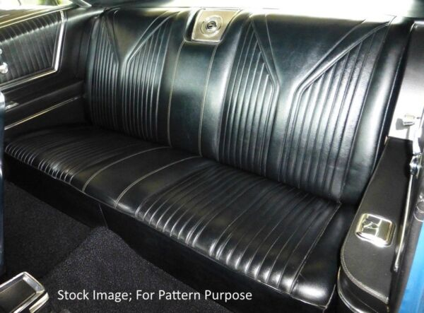 1965 Chevrolet Impala SS Coupe Rear Seat Cover