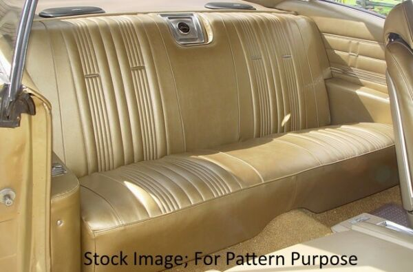 1967 Chevrolet Impala & SS Coupe Rear Seat Cover