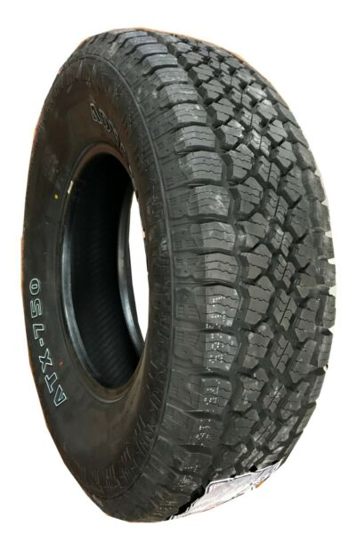 4 New Tires 265 70 16 Advanta All Terrain AT OWL 50,000 Miles P265/70R16 USAF