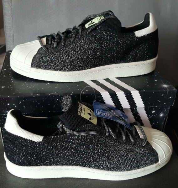 NEW AUTHENTIC ADIDAS SUPERSTAR 80S PRIMEKNIT ASG  US 9