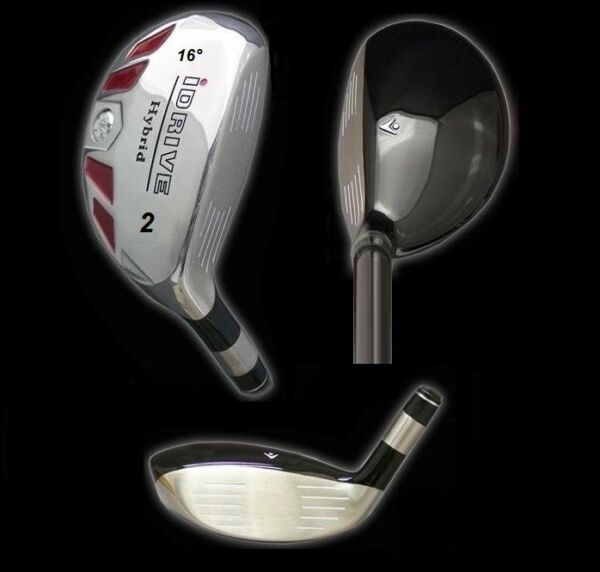 IDRIVE Hybrid Irons Golf Clubs (CHOOSE) 2 3 4 5 6 7 8 9 PW SW LW - FREE USA SHIP