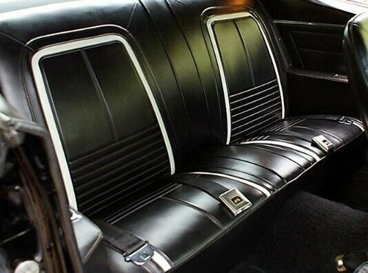 1967 Chevrolet Camaro Deluxe Stationary Coupe & Convertible Rear Seat Cover