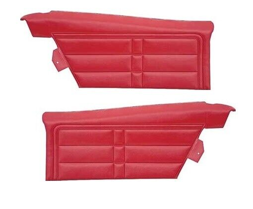 1966 Chevrolet Impala & SS Coupe Unassembled Rear Side Panel Pair