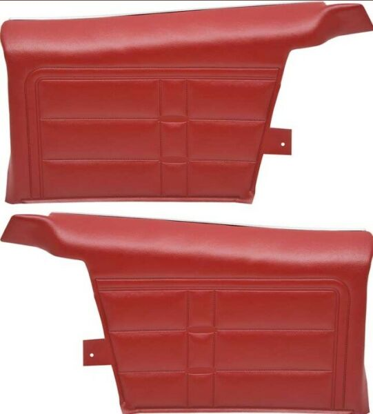 1966 Chevrolet Impala & SS Convertible Preassembled Rear Side Panels