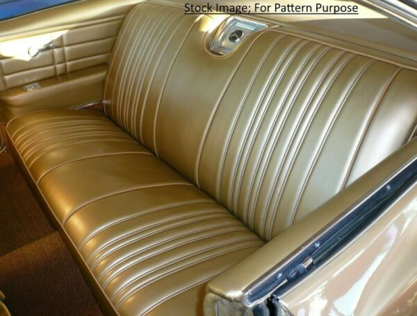 1966 Chevrolet Impala & SS Coupe Rear Seat Cover