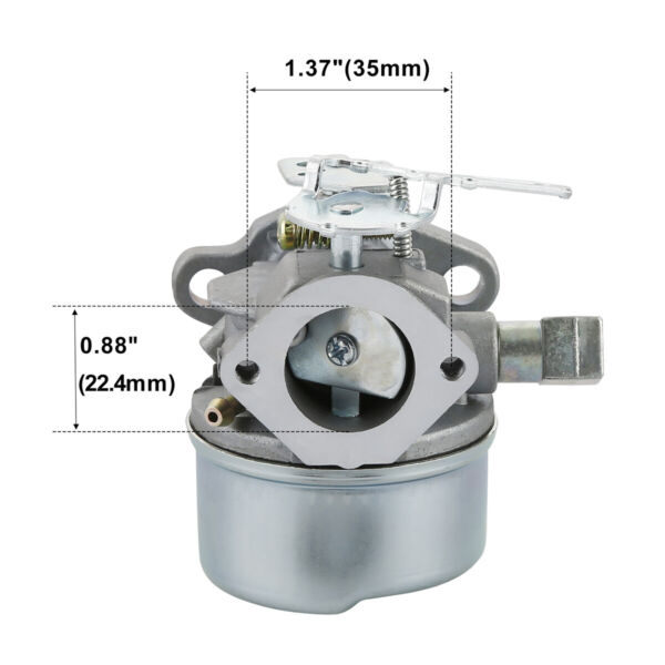 Adjustable CARBURETOR Carb For TECUMSEH 5HP MTD 640084B 640084A SNOWBLOWER