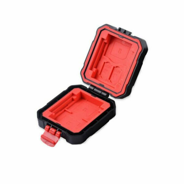 Vidpro Super Rugged Memory Card Case Holds 2 XQD, 2 CF, 3 SD & 2 MicroSD