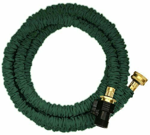 Jhose Expandable Water Hose 3 8quot; ID 3 4quot; OD Green