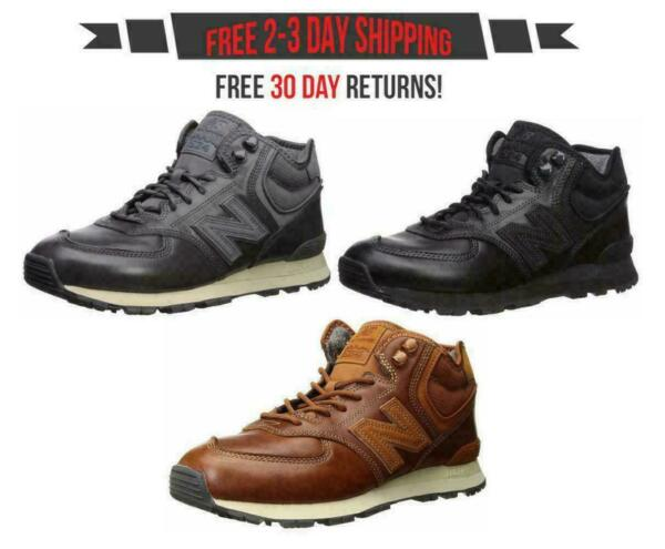New Balance 574 Mid Cut Men's Classic MH574 High Top Fashion Sneakers Shoes