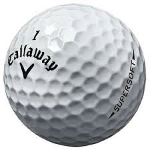 36 Callaway Supersoft Mint AAAAA Used Golf Balls 5A
