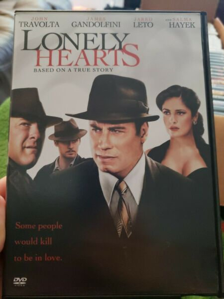 Lonely Hearts DVD MOVIE John Travolta Salma Hayek James Gandolfini (REE)