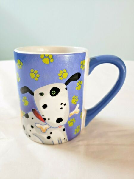 DEBI HRON TOP DOGS 2006 GIBSON BLUE COFFEE TEA MUG CUP 11OZ $12.00