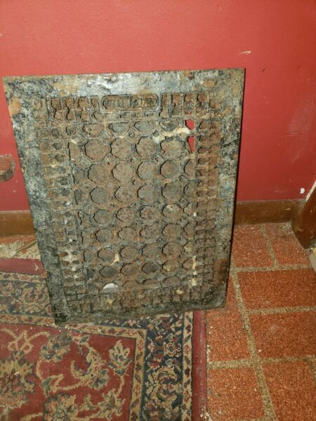 Antique Grate 15x12 Honeycomb Style