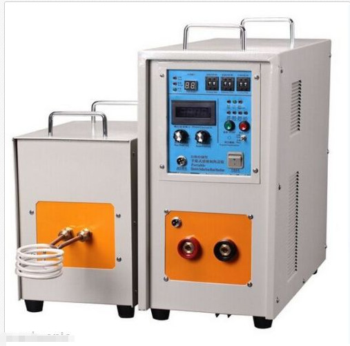 25KW 30-80KHz Dual Station High Frequency Induction Heater Furnace LH-25AB m
