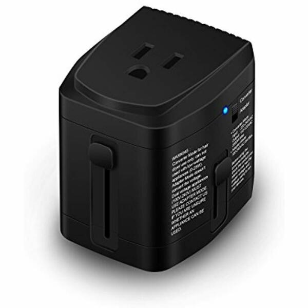 UL Power Converters Test Pass World Travel Plug Adapter And 2000 Watts Voltage -
