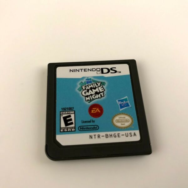 Hasbro Family Game Night Nintendo DS 2009 Cartridge only.