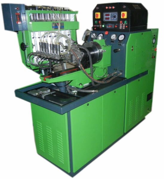 8 Cylinder Diesel Fuel Injection Pump Test Bench  Stand Model: NMT 800 E
