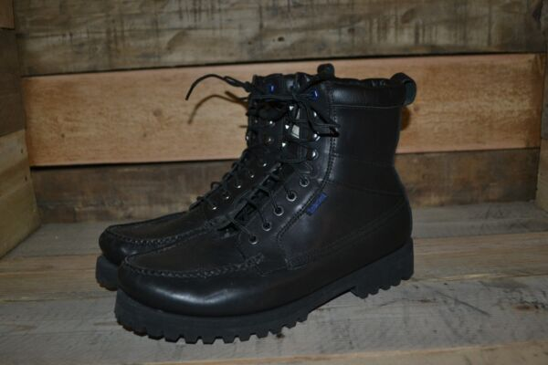 Men's Timberland Black Leather Ankle Boots – 30556 – Size 11 W $59.99