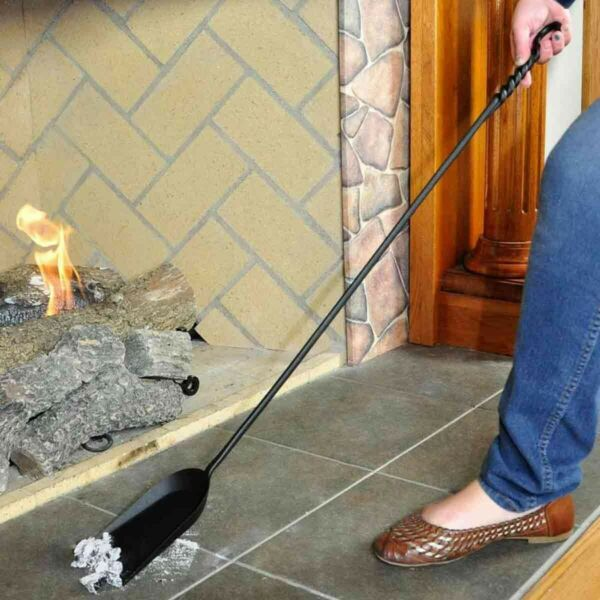 Long Rope Design Fireplace Shovel - Less Than Perfect