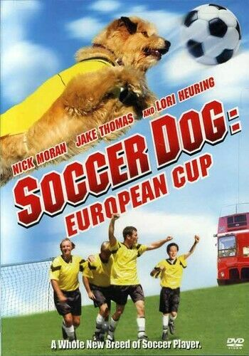 Soccer Dog 2: European Cup DVD **DISC ONLY** $2.95