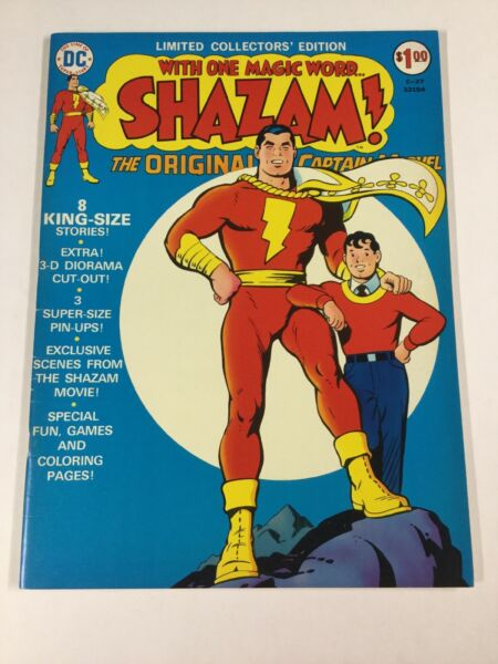 Shazam Treasury Size C 27 Limited Collectors Edition Fine 6.0 Fn