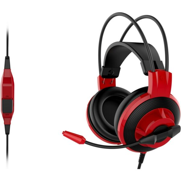 MSI S37-2100921-SV1 Ds501 Gaming Headset 20hz-20khz Frequency Response 3.5 Jack