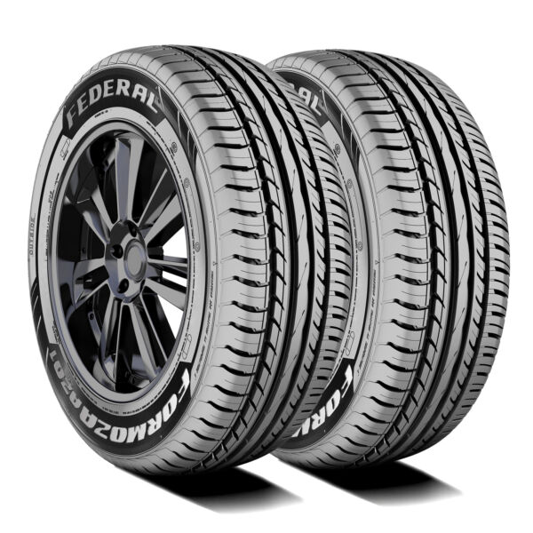 2 New Federal Formoza AZ01 155 60R15 74H A S Performance Tires