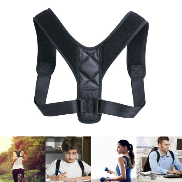 Back Posture Corrector Shoulder Straight Support Brace Belt Therapy Men Women