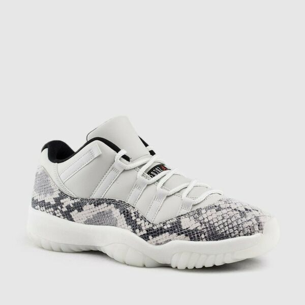 Nike Air Jordan Retro XI 11 LOW Light Bone Snakeskin CD6846-002 MEN
