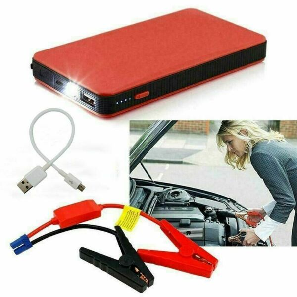 20000mAh Car Jump Starter Pack Booster Battery Charger USB Power Bank Mini 12V
